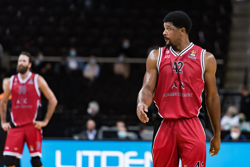 Kyle Hines (Milano Armani Exchange) / Fotogalerija - Basketnews.lt